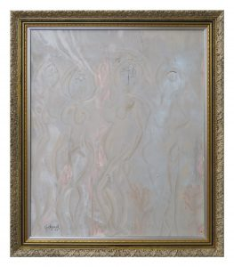 Title: La Primavera Size: 810 x 940mm Framed Price: SOLD