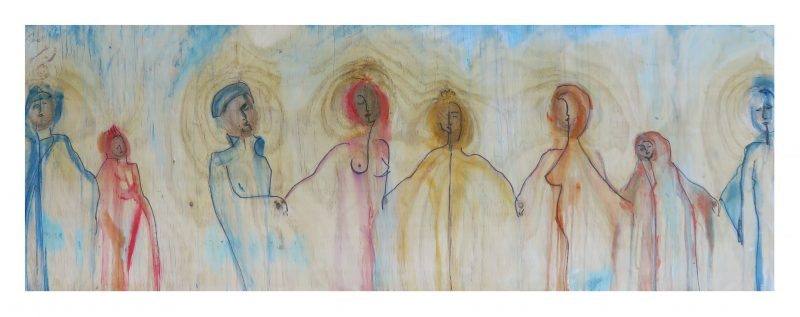 Title: Princess Serenade Size: 1200 x 430mm unframed Price: NZ$2,450