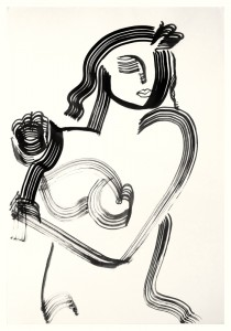 India Ink on Paper